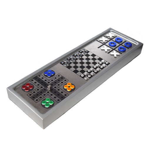 לוח משחקים אלומיניום מגנטי מהודר 1*4