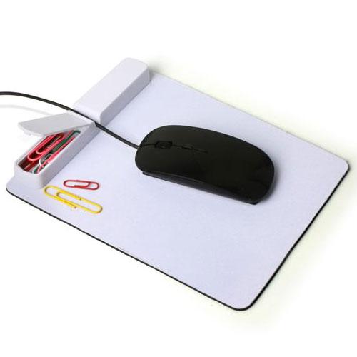 פד לעכבר עם מפצל USB למיתוג צבעוני
