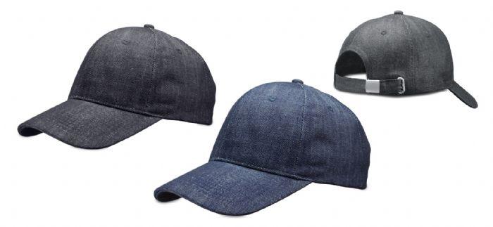 כובע ג'ינס איכותי 6 פאנל