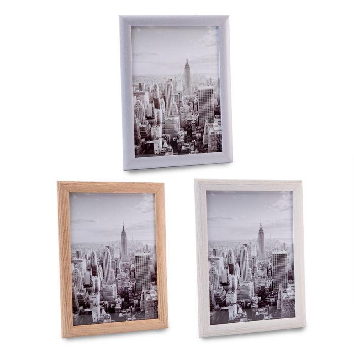 מסגרת לתמונה מעץ וזכוכית