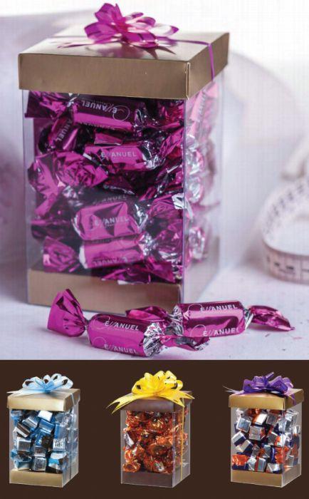 מארז שוקולד מלבני