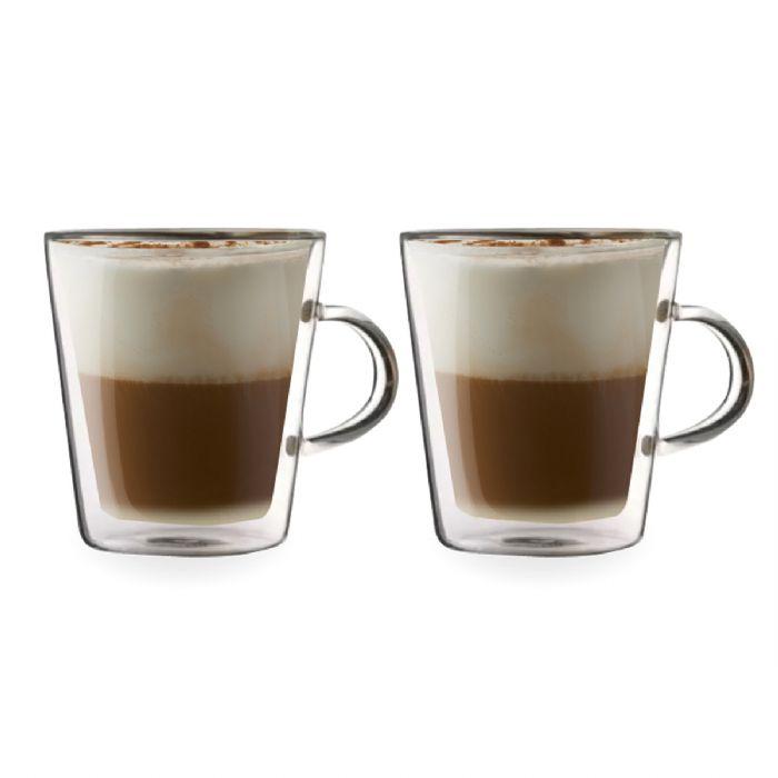 זוג כוסות עם דופן כפולה – אוגנדה