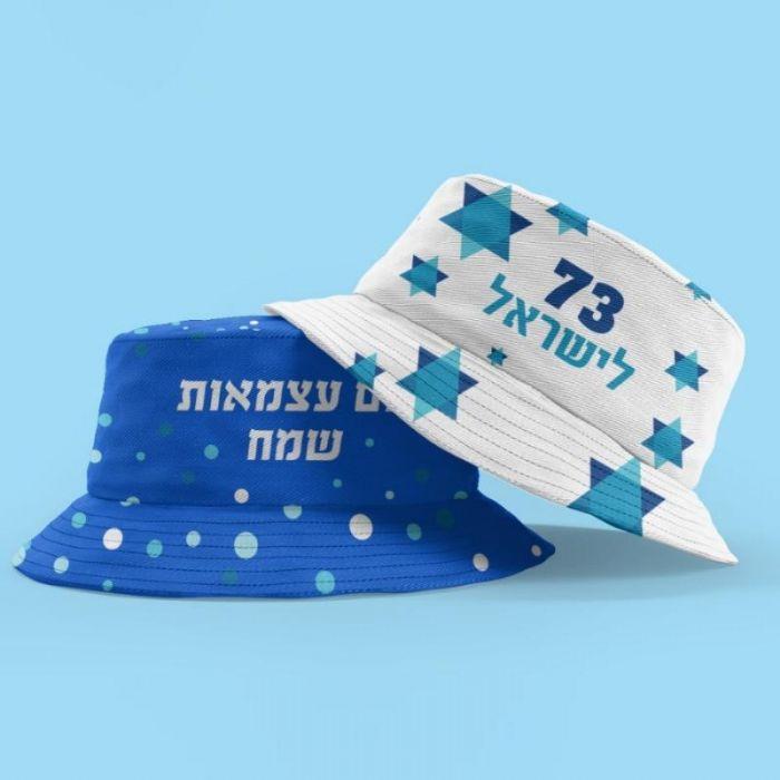 כובע טמבל מודפס ALL OVER ליום העצמאות