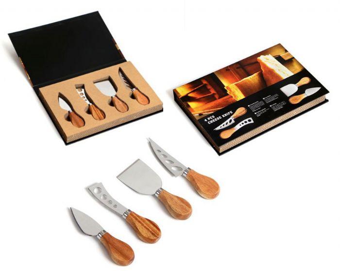 סט סכיני גבינות במארז