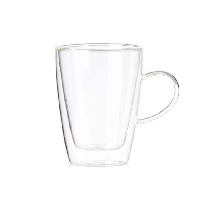 """כוס דאבל עם ידית 300 מ""""ל"""