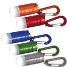 מחזיק מפתחות פנס אלומניום עם תאורת לד לבנה חזקה במיוחד
