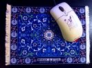 פד לעכבר שטיח כחול