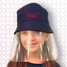 כובע עם מסיכת מגן