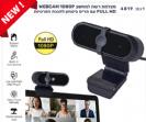 מצלמת רשת למחשב WEBCAM 1080P FULL HD עם תריס ביטחון להגנת הפרטיות