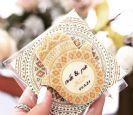 הזמנה לחתונה שוקולד חמסה