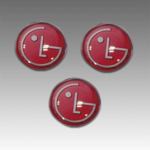 מגנט לוגו עגול מזכוכית