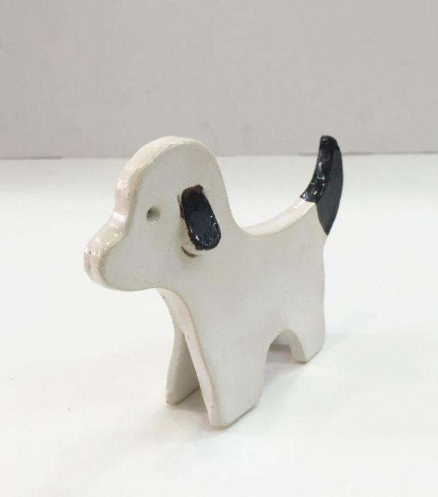 פסל כלב דקורטיבי