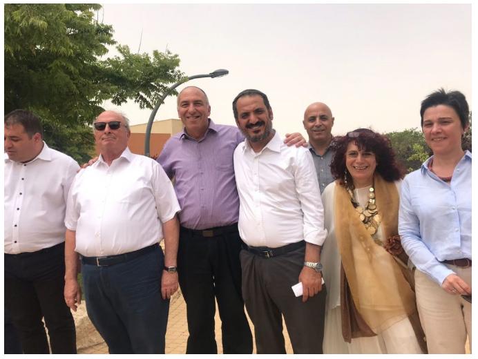משלחת דיפלומטית מרומניה ביקרה בעמותת יחדיו