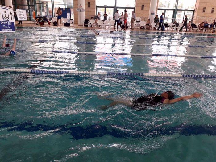 סיוון בתחרויות מוקדמות של העמותה למשחקים לאומיים -ספיישל אולימפיקס
