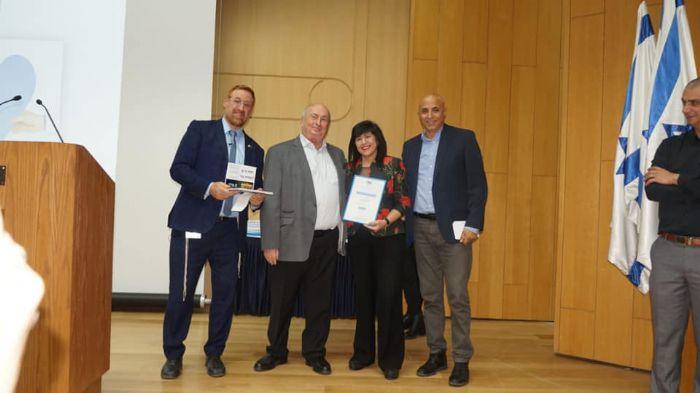 אות הוקרה והערכה לעמותת יחדיו על עשיית טוב עבור הקהילה והחברה הישראלית