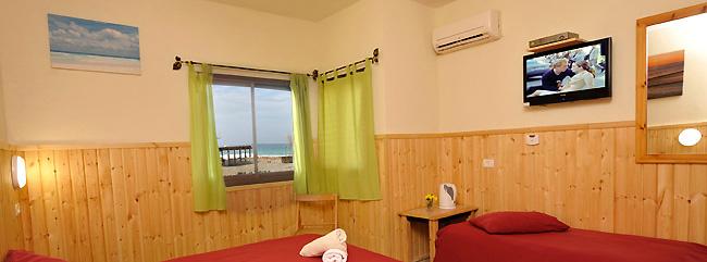 חדרי אירוח על הים