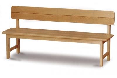 ספסל גן עץ