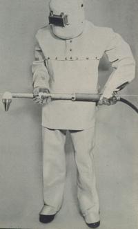 לפיד חיתוך בפלסמה משנות ה-60