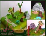 עוגת דינוסאור