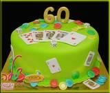 עוגת יום הולדת לחובב משחקי מזל