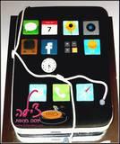 עוגת אייפון לעמית בן ה-10