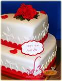 עוגת האירוסין של מירי ודודי, מזל טוב!