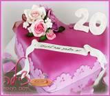 עוגת יום הולדת מיוחדת לדנית - מזל טוב! Danit´s very special birthday cake