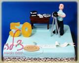 הוא רואה חשבון, הוא חובב צילום וחגג יום הולדת 50 עם עוגת יום הולדת מיוחדת
