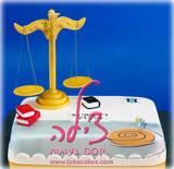 עוגת יום הולדת לעורך דין