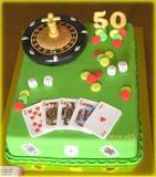 עוגה מיוחדת לחובב משחקי מזל - Roulette cake