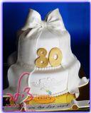 עוגת יום הולדת 80 לסבתא - Grandma´s birthday cake