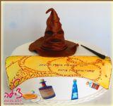 עוגת הארי פוטר - Harry Potter cake