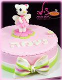 עוגת הלו קיטי ליום הולדת של נעמה. מזל טוב!