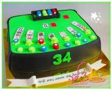 עוגת פוקר, מתנה ליום הולדת - Poker cake
