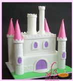 עוגת טירה קסומה ליום הולדת