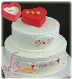 עוגה להצעת נשואין