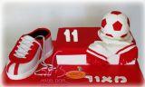 עוגת יום הולדת מיוחדת לשחקן הפועל באר שבע. מזל טוב מאור! A birthday cake for a soccer player