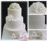 עוגת חתונה לבנה