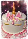 עוגת חד קרן ליום הולדת של עדי המתוקה. Unicorn cake for Adi´s birthday