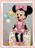 טופר מיני מאוס לעוגת יום הולדת ראשון של תינוקת הכי חמודה!