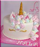 עוגת חד קרן ליום ההולדת של חלה