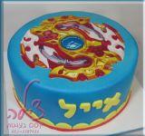 עוגת בייבלייד ליום ההולדת של אייל