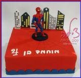 מוחמד הכי אוהב את ספידרמן, וזו העוגה שקיבל ליום ההולדת שלו - עוגת ספיידרמן צבעונית וטעימה!
