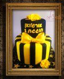 עוגת יום הולדת ראשון לארג´ואן, מעוצבת לפי בקשת ההורים