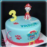 עוגת יום הולדת בנושא מפרץ ההרפתקאות