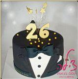עוגת יום הולדת אלגנטית במיוחד