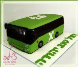 אוטובוס אגד? נכון, אבל הוא אכיל לגמרי! עוגת אוטובוס ליום הולדת של איש אהוב