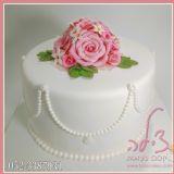 גם בזמן קורונה לא מוותרים על חתונה. עוגת חתונה לחגיגה אינטימית מאוד