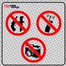 אסורה הכנסת טלפון נשק ומצלמה