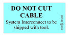 08-3366 DO NOT CUT CABLE